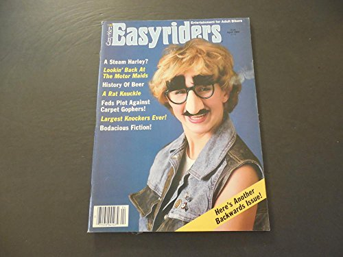 Easyriders Apr 1984 Steam Harley; Motor Maids; Rat Knuckle - Harley Knuckle
