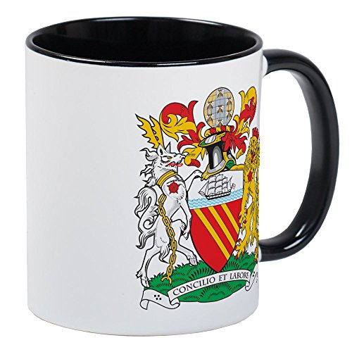 CafePress Manchester Coat Of Arms Mug Unique Coffee Mug, Coffee Cup ()