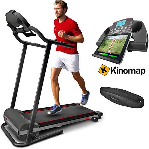 Sportstech F10 treadmill with Smartphone App...