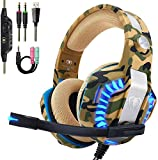 Beexcellent Pro Stereo Gaming Headset for PS4