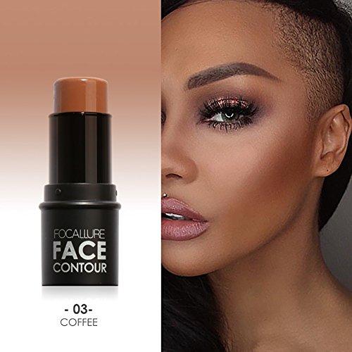 Shouhengda Highlighter Stick Shimmer Cream Powder Waterproof Light Face Cosmetics A03