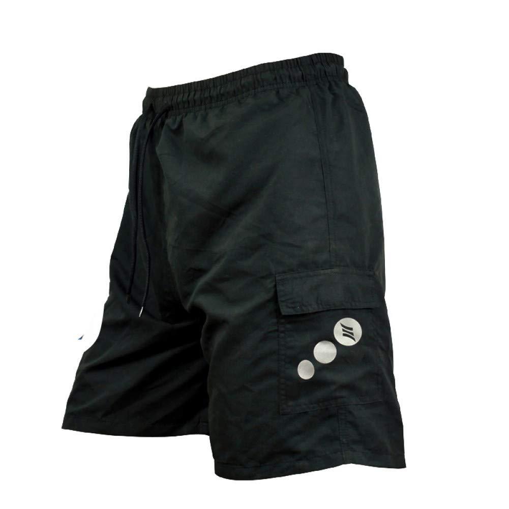 S YOGOAOO Sommer Männer Radhose Polyester 1 2 Freizeit Mit 3D Futter Fahrrad Fahrrad Ride Sportswear Shorts