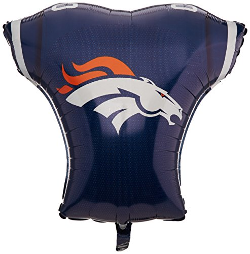 Anagram International Denver Broncos Jersey Flat Party Balloons, 24