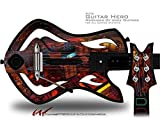 Reactor Decal Style Skin - fits Warriors Of Rock Guitar Hero Guitar (GUITAR NOT INCLUDED)