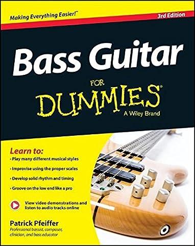 Bass Guitar For Dummies, Book + Online Video & Audio Instruction (Guitar / Bass)