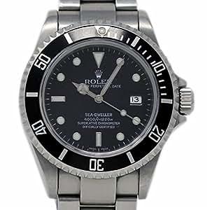 Rolex Sea-Dweller Swiss-Automatic Male Watch 16600 (Certified Pre-Owned)
