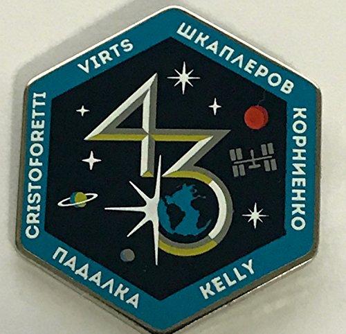 - NASA Expedition 43 Lapel Pin
