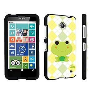 DuroCase ? Nokia Lumia 635 Hard Case Black - (Cute Frog) by icecream design