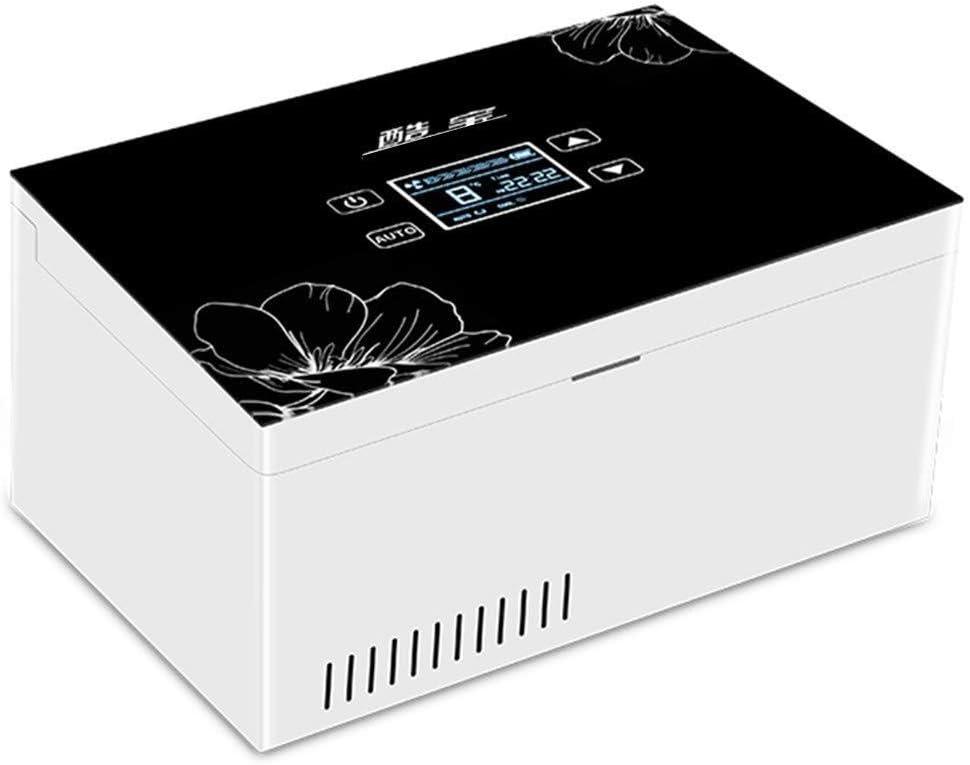 Insulin kühler A Insulina Refrigerada Caja Mini Portátil Hogar Refrigerado Nevera Recargable Pequeño Refrigerador Termostático Y Caja De LCD Inteligente Insulina Coche Viajes: Amazon.es: Hogar
