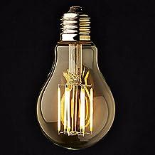 3PCS E26/E27 6 W 6 COB 600 LM 2800-3200K K Warm White A Dimmable Globe Bulbs AC 220-240/AC 110-130 V