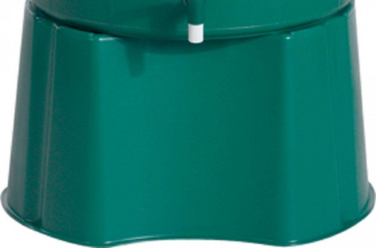 Dreams4Home Regentonnensockel - Unterstand für Regentonnen, Sockel für Regentonnen, Garten, Balkon, Terrasse, H: 33 cm, in grün, für Regentonnen 210, 310 oder 510 Liter, Größe:310 Liter