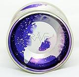 YoYofficer Rave Aluminum Yo-Yo - Purple Silver