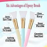 Silicon Epoxy Brushes Set for Making Epoxy