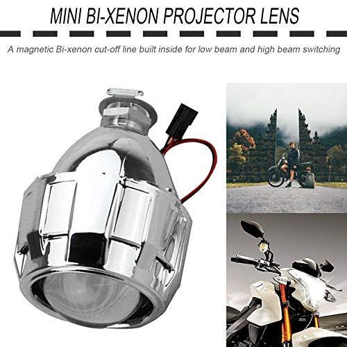 fghdf 2,5 pulgadas Xenon Bi-xenón HID Claro lente del proyector ...