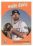Baseball MLB 2018 Topps Archives #66 Wade Davis Rockies