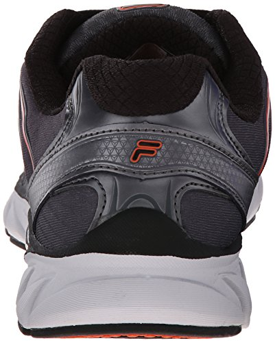 Fila Countdown Black Orange Red Shoe Men's Running Dark Silver rRqr1On