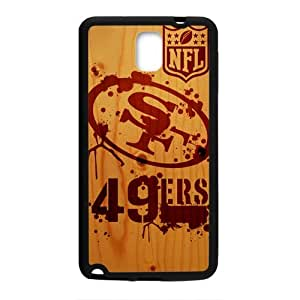 DAZHAHUI NFL San Francisco 49ers Logo Cell Phone Case for Samsung Galaxy Note3