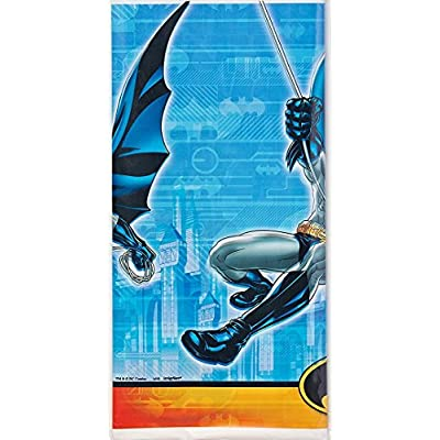 amscan Batman Plastic Tablecover 54