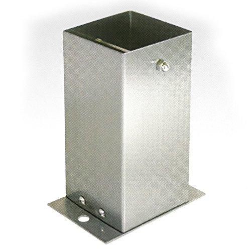 【6個セット】 装飾 柱脚 金物 120角 SB120 ストレート ステンレス製 西潟 アMD B01N3L2DHQ