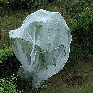 JIAYUAN Cortina de Tela para Mosquitos, Insectos y pájaros, Ideal ...