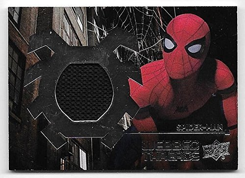 2017 Spiderman Homecoming Webbed Threads #13 Spiderman Stark Suit