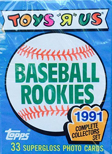 1991 Mlb Rookies - 1991 Topps Glossy Toys R Us Baseball Rookies Card Set - Frank Thomas