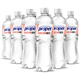 Propel, Peach, Zero Calorie Water Beverage with Electrolytes & Vitamins C&E, 24 Fl Oz (Pack of 12)