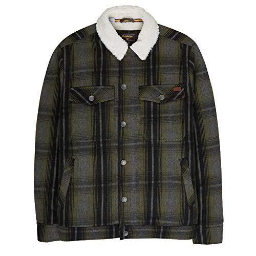 Billabong Barlow Wool Jacket Large Military