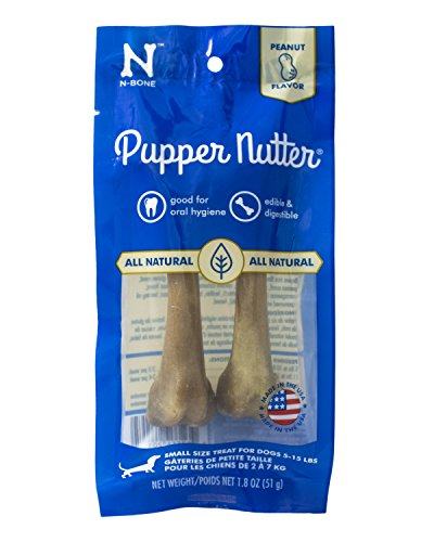 Tuff Peanut Butter - N-Bone Pupper Nutter Peanut Butter For Pets, Small