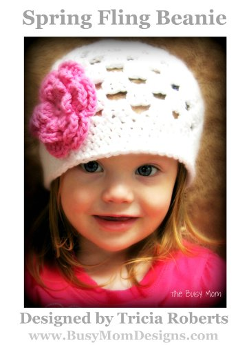 Amazon Crochet Pattern Spring Fling Beanie Easy Hat And