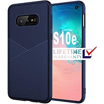 Samsung Galaxy S10e Case, HNHYGETE Soft Slim Shockproof Anti-Fingerprint Full Protective Phone Cases For Samsung Galaxy S10 Lite (Galaxy s10e/s10 Lite Case) Blue