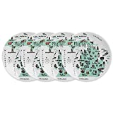 My Place Michigan Appetizer Plates (Set of 4)