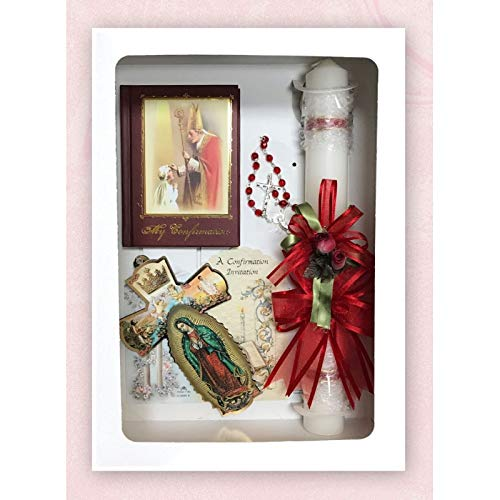 SF001 Catholic & Religious Gifts, Confirmation Gift Set Girl Spanish by SF001