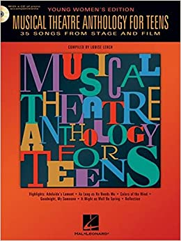 Book Musical Theatre Anthology for Teens Young Women's Edition Softcover Audio Online