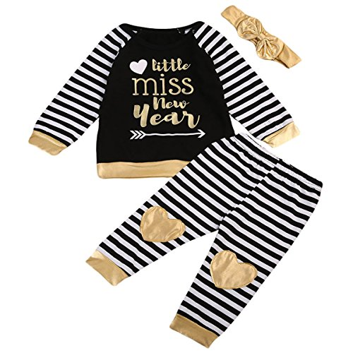 Baby Kids Girls Letters Printed Long Sleeve T-shirts Tops Clothes - 4