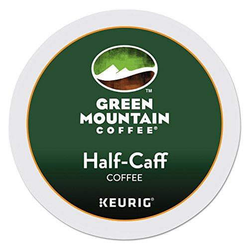 Keurig Green Mountain Coffee Decaf Half-Caff K-Cup Pod, Medium Roast, 48 Pack - Filter Medium Roast
