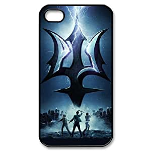 Percy Jackson Personalized Boutique Brilliant Iphone 4 Or 4S Best Rubber+PC Case By Cinderella Magic