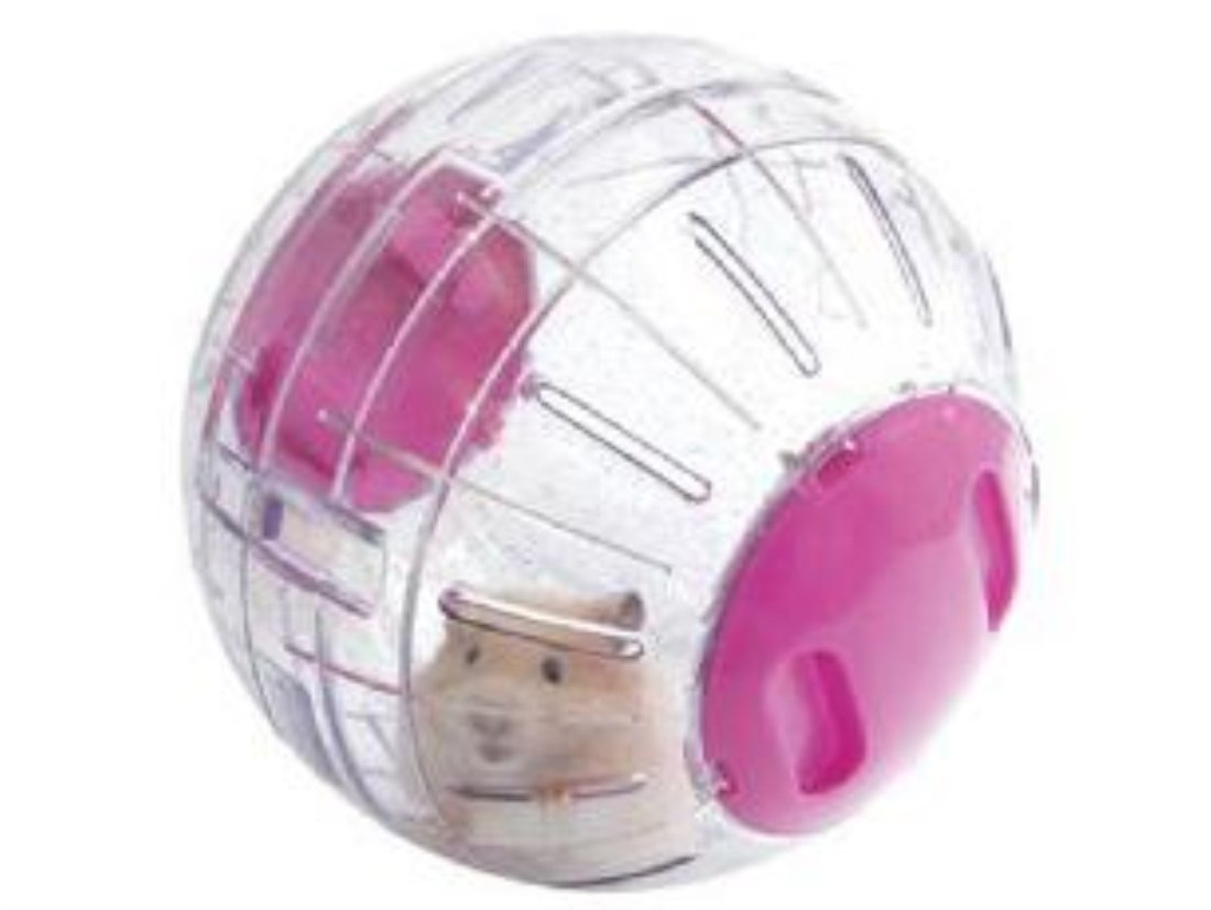 Boredom Breaker Small Animal Activity Toy Glitter Hamster Ball