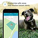 Findster Duo+ Pet Tracker Free of Monthly Fees - GPS Tracking Collar for Dogs and Cats & Pet Activity Monitor - Includes Care Membership 9