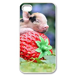 PCSTORE Phone Case Of Little Pig for iPhone 4/4S