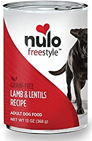 Nulo Adult & Puppy Grain Free Canned Wet Dog Food, 13 oz, Case o