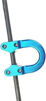 Bogenschießen Aluminiumlegierung D Ring für Pfeil und Bogen Zubehör
