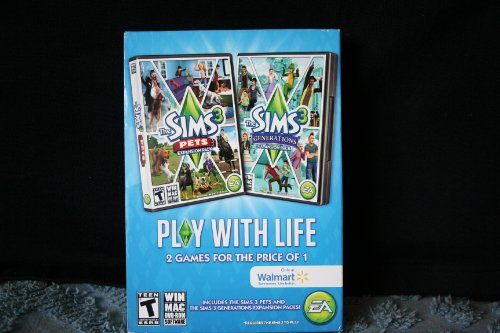 Sims 3 Pets Expansion Pack and The Sims 3 Generations Expansion Pack (The Sims 2 Pets Expansion)