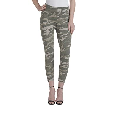 f3970875789 Lysse Women s Soho Canvas Crop Legging (Ivy Camo