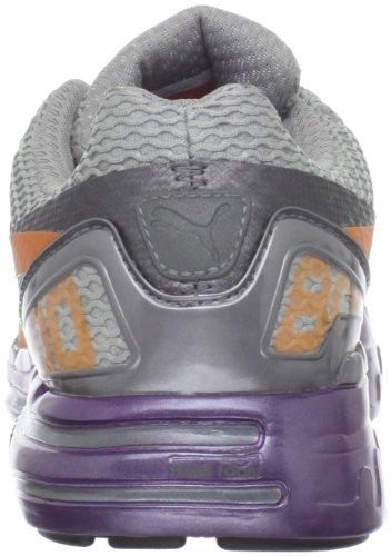 Zapatillas De Running Puma Para Mujer Faas 800 S Gris Acero / Zanahoria / Gloxinia