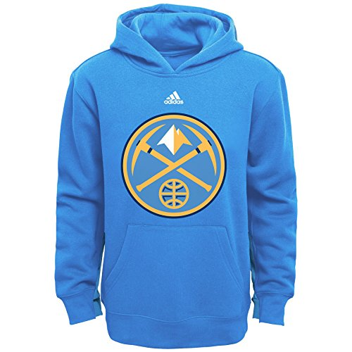 fan products of NBA Youth Boys 8-20 Denver Nuggets Primary Logo Fleece-Light Blue-S(8)