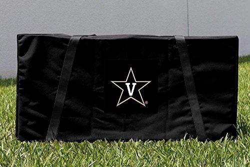 Vanderbilt Case Bag - Victory Tailgate Vanderbilt University Commodores Cornhole Carrying Case