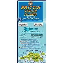 British Virgin Islands Adventure Dive Guide Franko Maps Bvi Waterproof Map