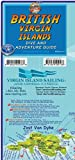 British Virgin Islands Dive Guide BVI Waterproof Map Franko Maps