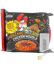 Paldo Volcano Chicken Noodle (Artificial Beef & Chicken Flavour) 140g